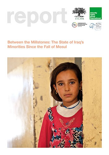 Cover image of the report on Iraq's minorities since the fall of Mosul